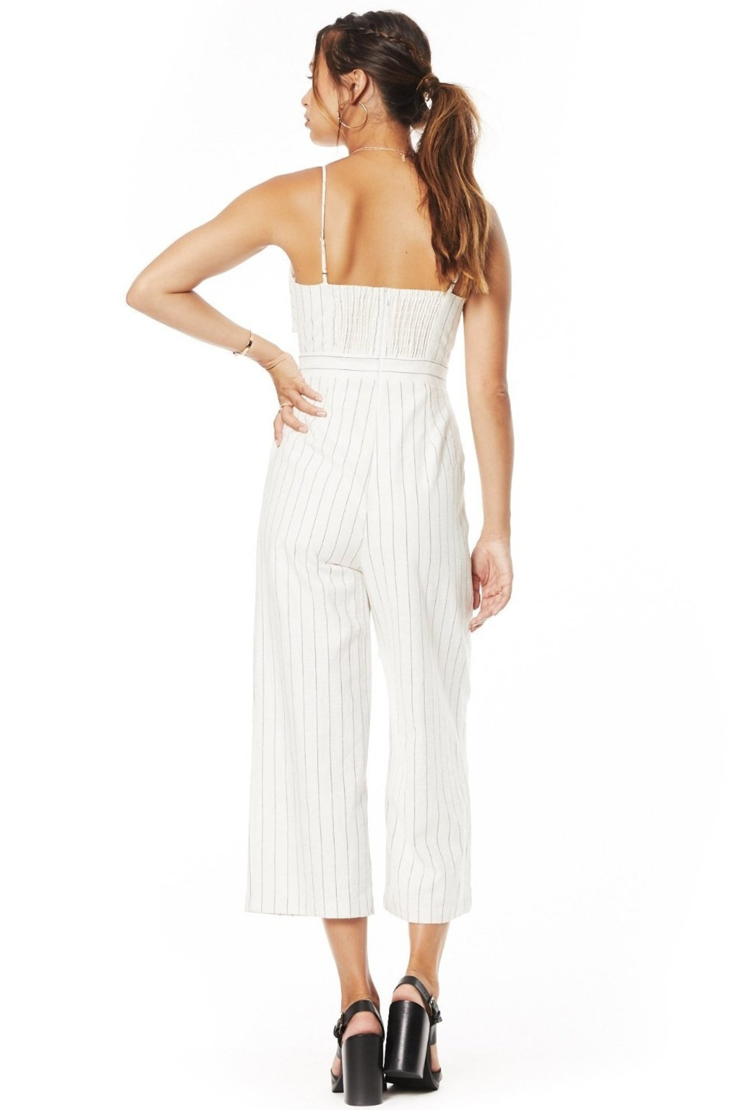 Lost + Wander Paradise Cove Jumpsuit - Side Cropped Image