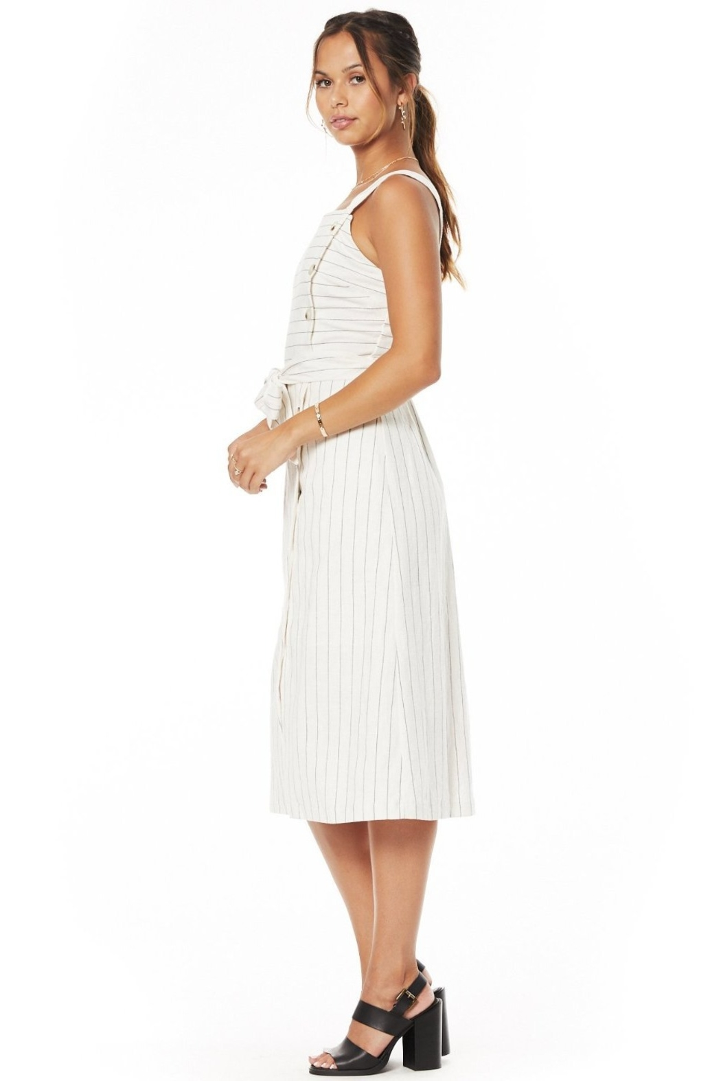 Lost + Wander Paradise Cove Midi Dress - Side Cropped Image