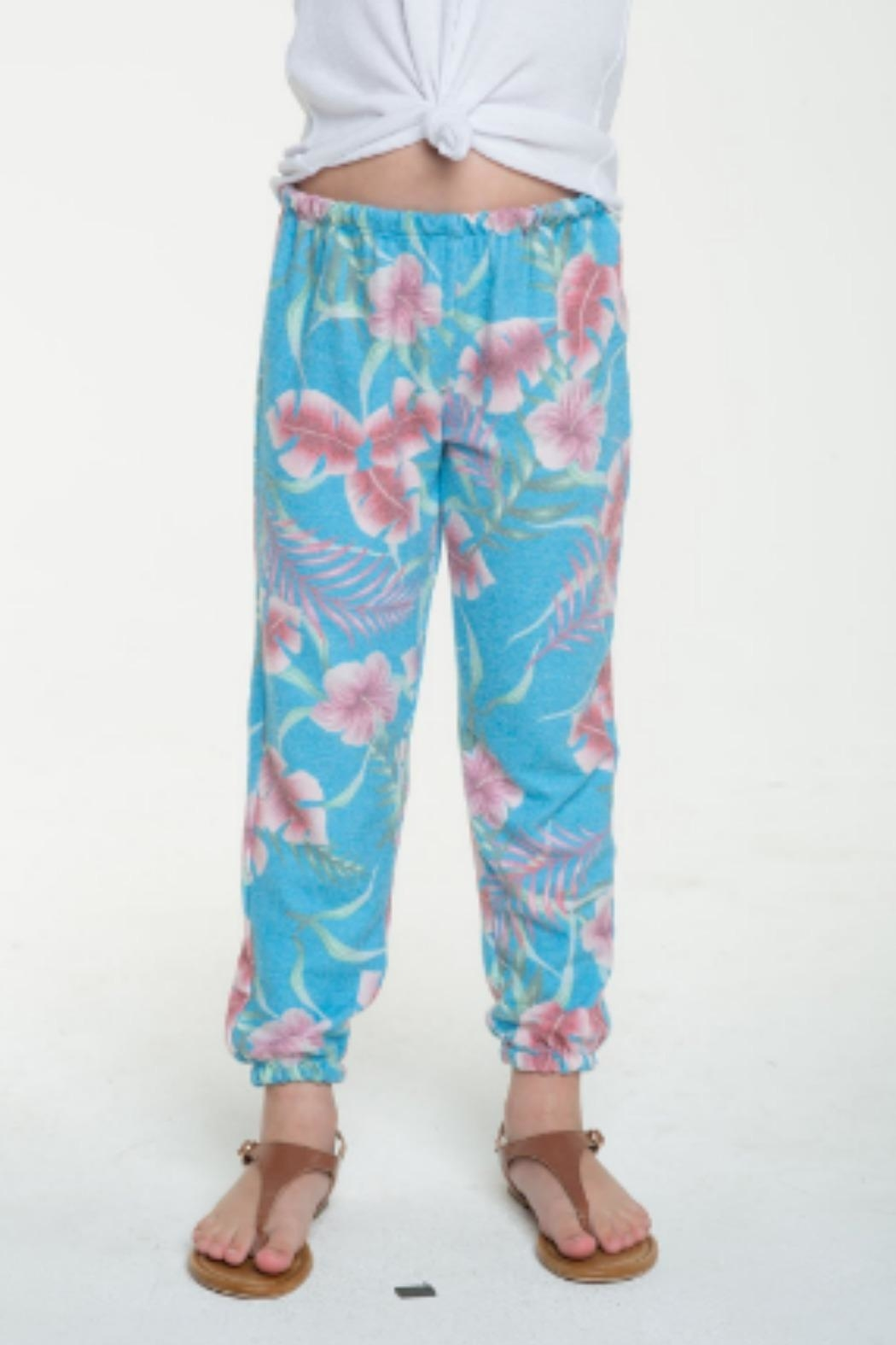 Chaser Paradise Cozy Sweatpant - Front Cropped Image