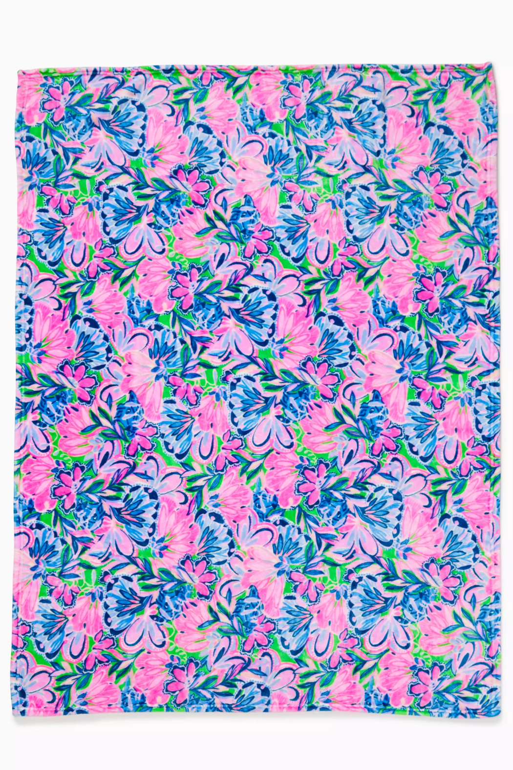 Lilly Pulitzer  Paradise Fleece Blanket - Front Full Image