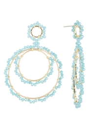 Saachi Paradise Hoop Earring - Front cropped