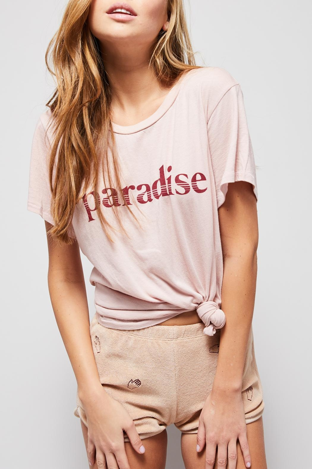 All Things Fabulous Paradise Vintage Tee - Main Image