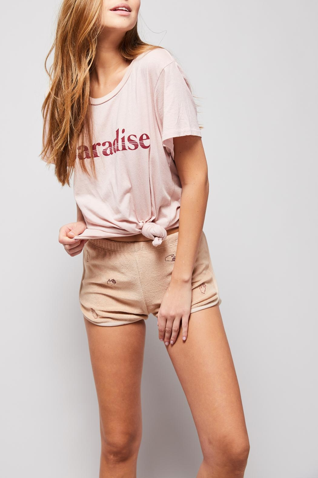 All Things Fabulous Paradise Vintage Tee - Front Full Image