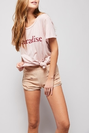 All Things Fabulous Paradise Vintage Tee - Front full body