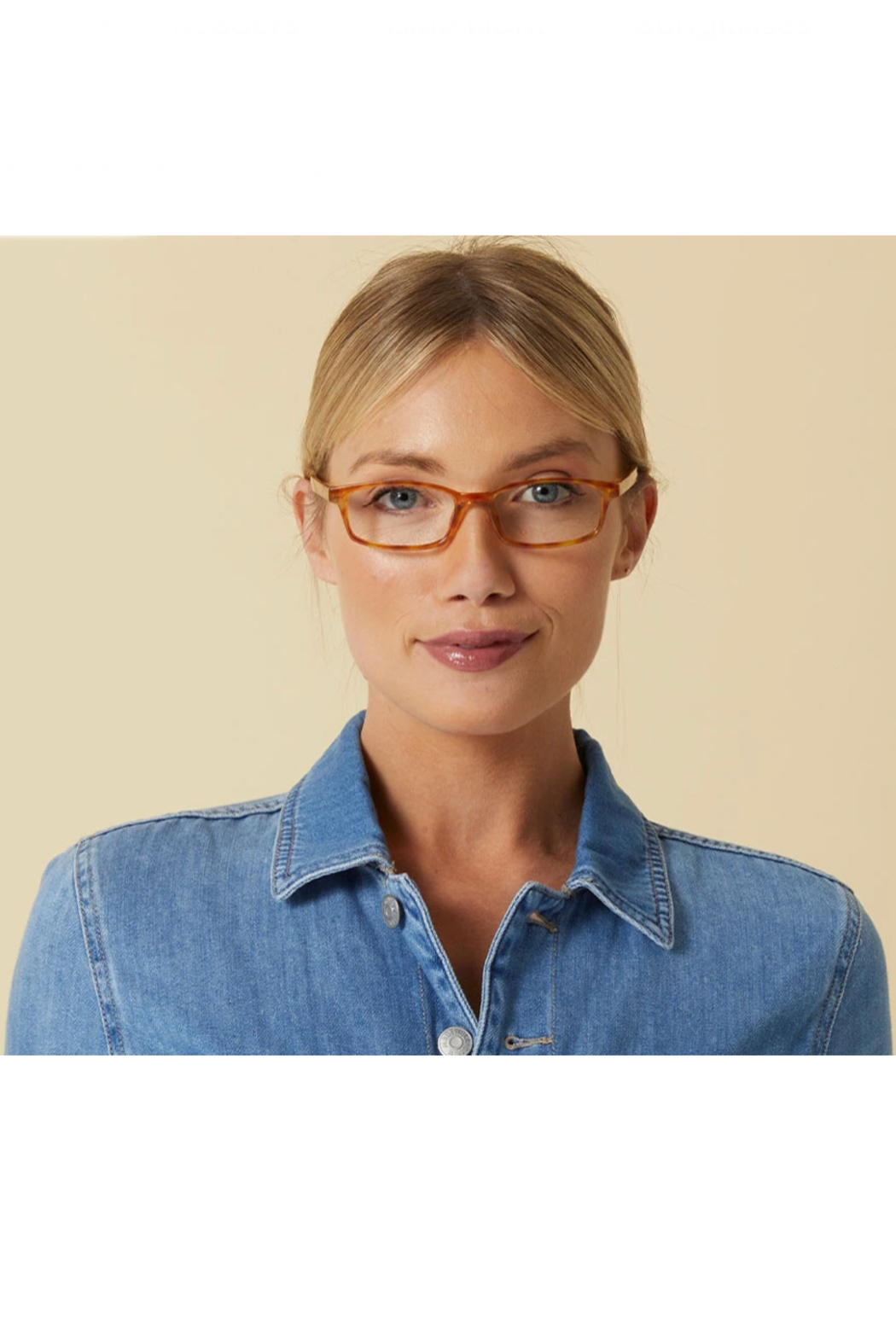 Peepers  Paragon 2728 Reading Glasses - Back Cropped Image