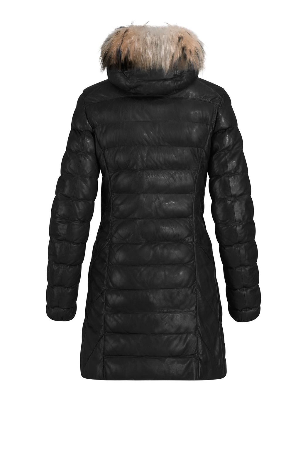 Parajumpers Demi Leather Black - Side Cropped Image