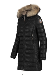 Parajumpers Demi Leather Black - Front full body