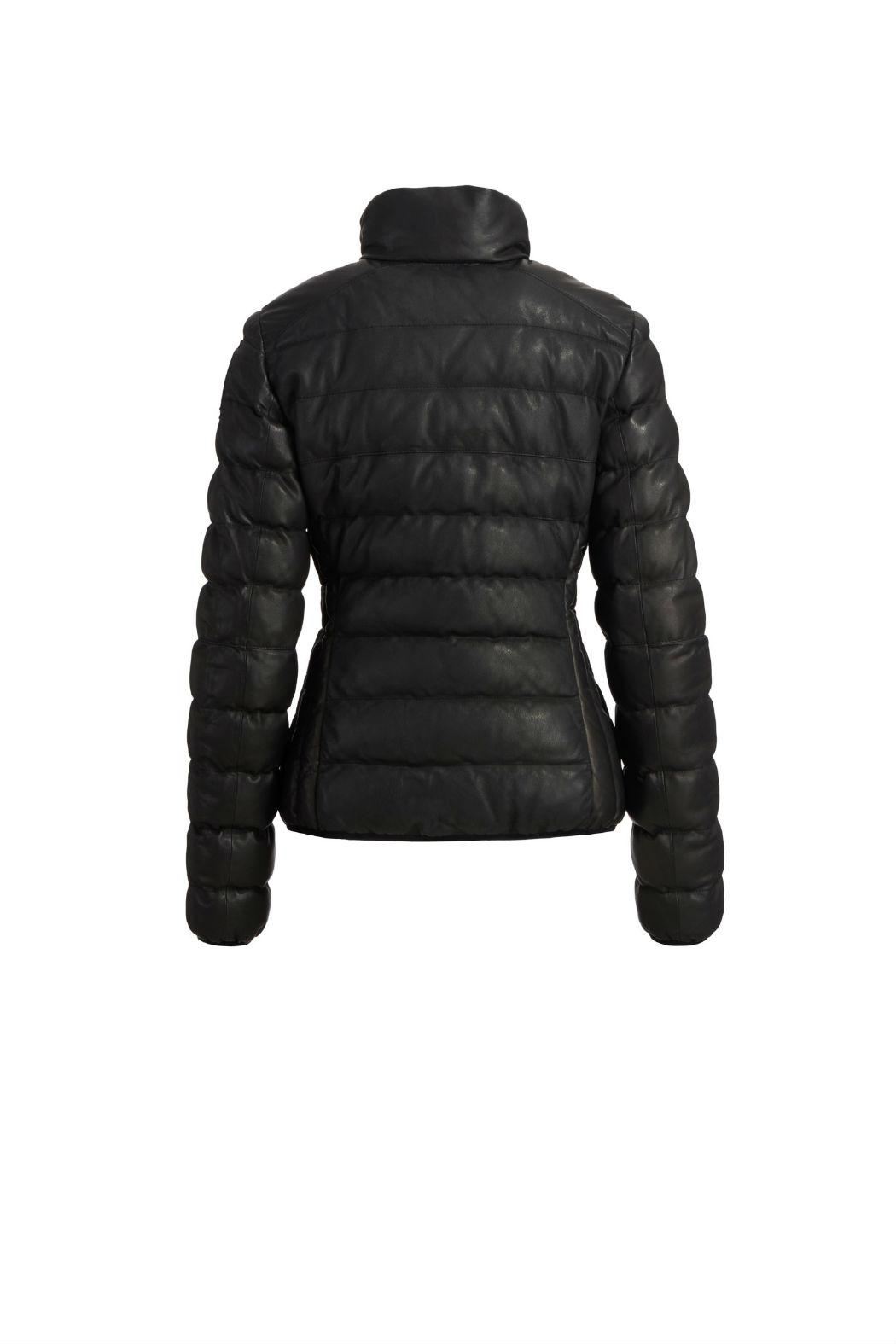 Parajumpers Jodie Leather Jacket - Side Cropped Image