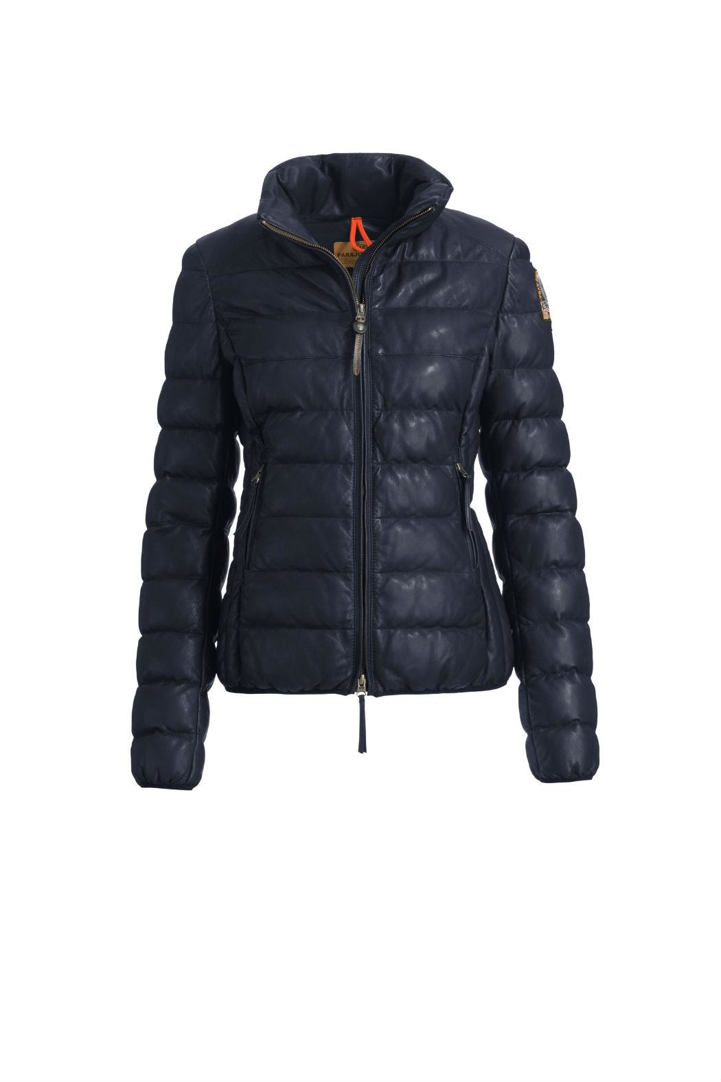 Parajumpers Jodie Leather Jacket - Front Cropped Image