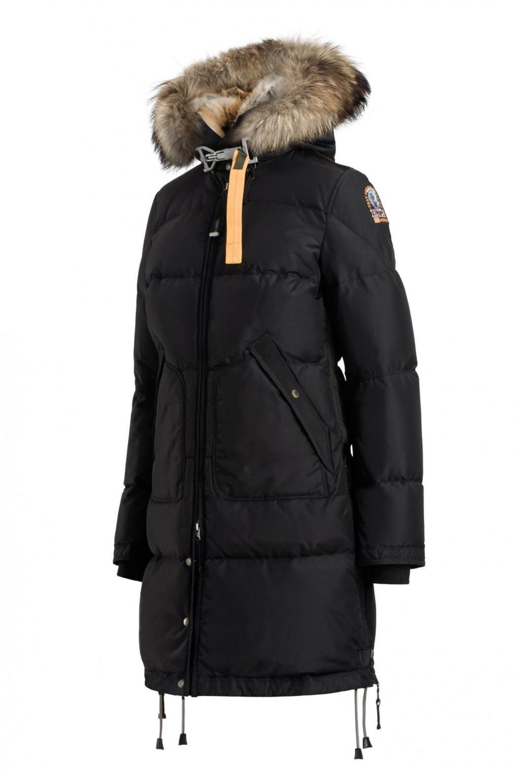 parajumpers long bear coat black