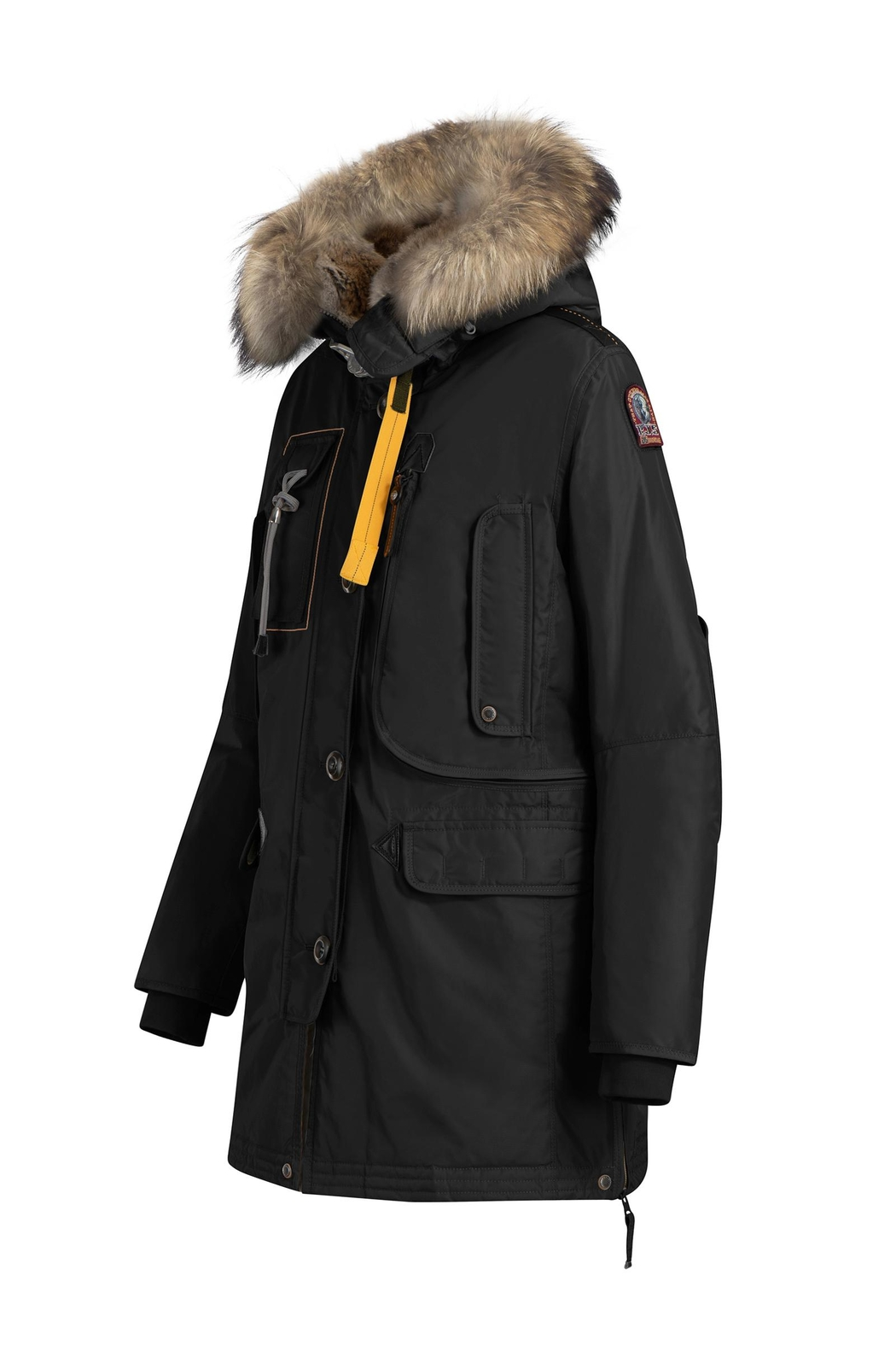 Parajumpers Long Bear Jacket - Front Full Image