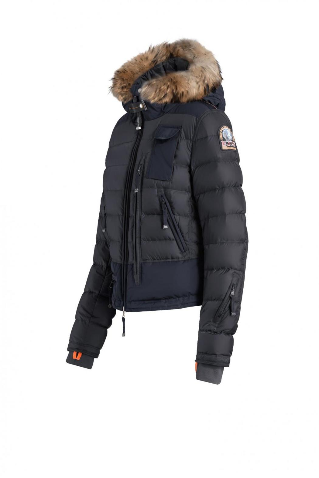 parajumpers kodiak jacket mens navy; parajumpers skimaster down jacket front full image