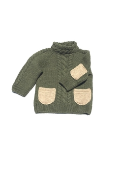 Shoptiques Product: Green Cashmere Sweater