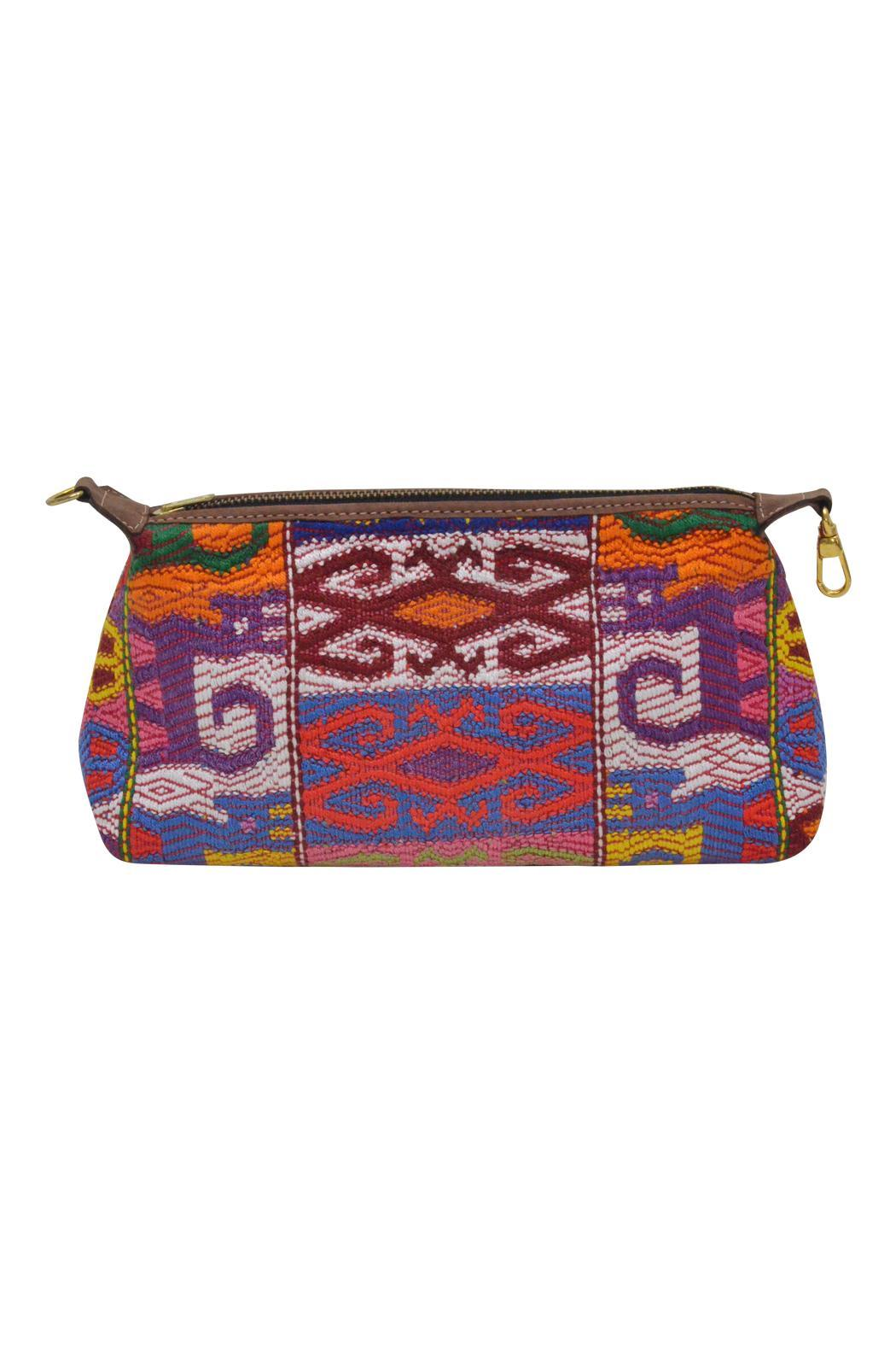 Parcel and Journey Huipil Cosmetic Clutch - Main Image