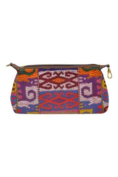 Parcel and Journey Huipil Cosmetic Clutch - Alternate List Image