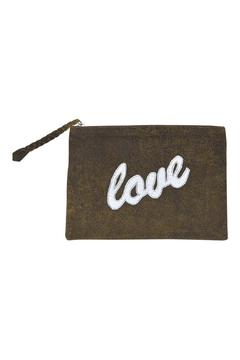 Parcel and Journey Leather Love Clutch - Alternate List Image