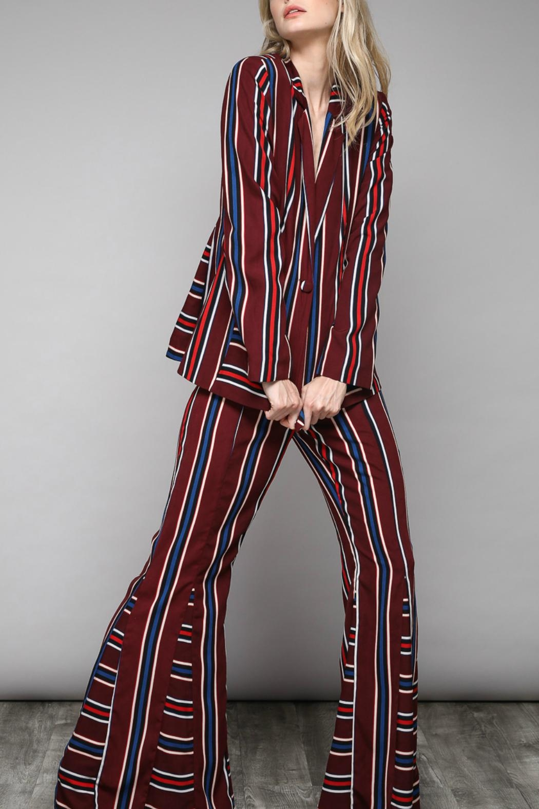 Do & Be Paris Bell Bottoms - Back Cropped Image