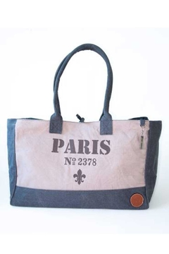 Le Papillon Paris Canvas Tote - Product List Image