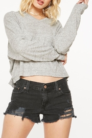 Project Social T Paris Cozy Hoodie - Front cropped