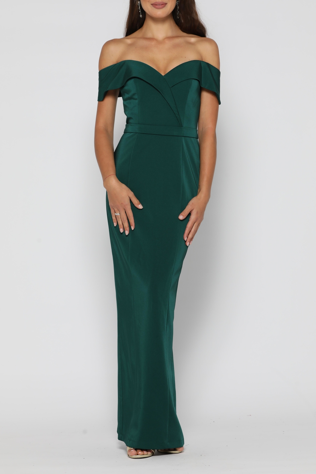 YSS the Label Paris Dress Emerald - Main Image