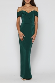 YSS the Label Paris Dress Emerald - Front cropped