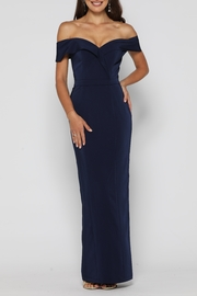 YSS the Label Paris Dress Navy - Front cropped