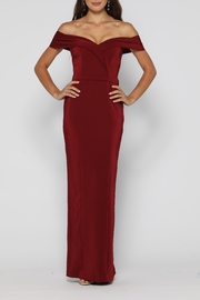 YSS the Label Paris Dress Wine - Front cropped