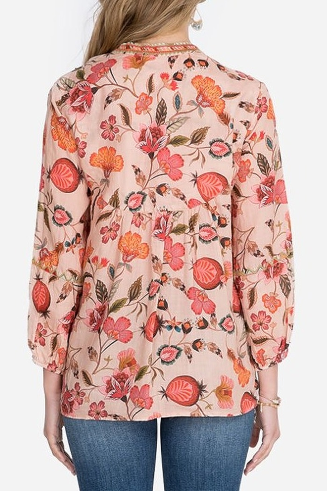 Johnny Was Paris Effortless Blouse - Front Full Image