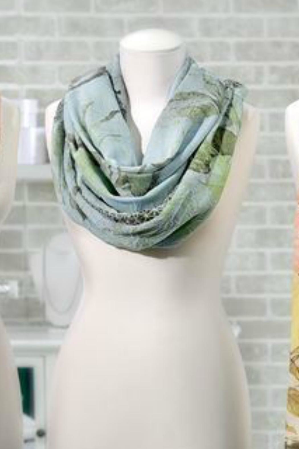 Gift Craft Paris Scarf - Front Cropped Image