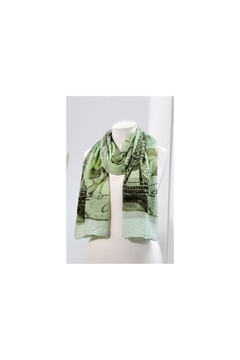 Giftcraft Inc.  Paris Scarf-Green - Product List Image
