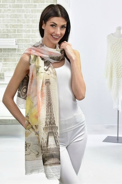 Gift Craft Paris Scarf - Product List Image