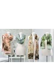 Gift Craft Paris Scarf - Front full body