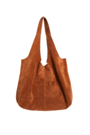 Free People Paris Suede Tote - Front full body