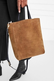 Anine Bing Paris Tote Chestnut - Front cropped