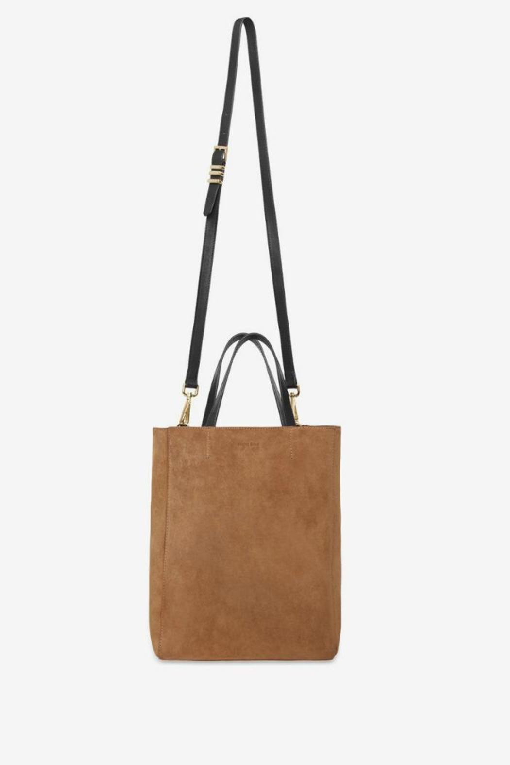 Anine Bing Paris Tote Chestnut - Side Cropped Image