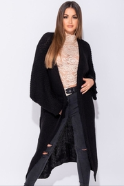 Parisian Long Cardigan Sweater - Product Mini Image