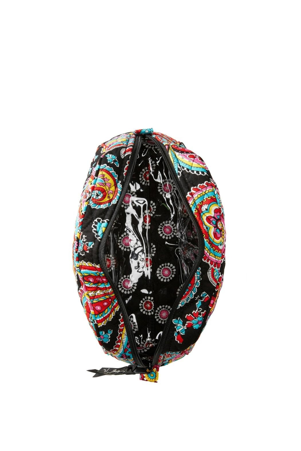 Vera Bradley Parisian Paisley Small-Cosmetic - Side Cropped Image