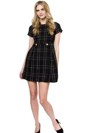 Julie Brown Designs Parisian Plaid Dress - Product Mini Image