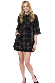 Julie Brown Designs Parisian Plaid Jacket - Product Mini Image