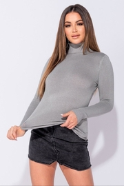 Parisian Turtle Neck Top - Product Mini Image