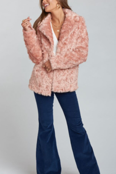 Shoptiques Product: Park Ave Faux Fur Jacket