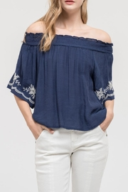 Blu Pepper Park Avenue Top - Front cropped