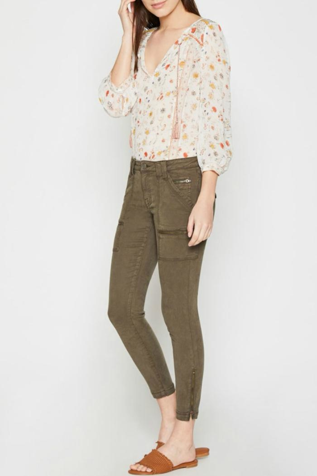 Joie Park Skinny - Side Cropped Image