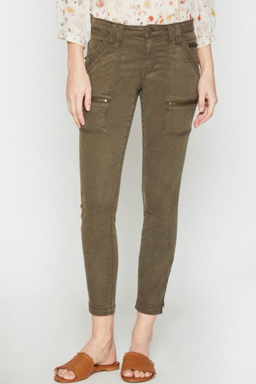 Joie Park Skinny - Front Cropped Image