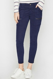 Joie Park Skinny Navy - Front cropped
