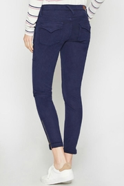 Joie Park Skinny Navy - Front full body