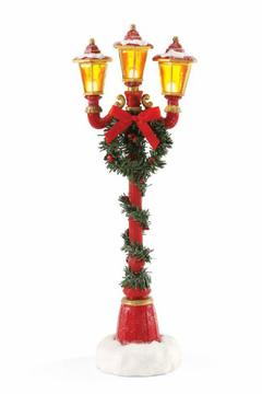 enesco Santa's Lamp Post - Alternate List Image