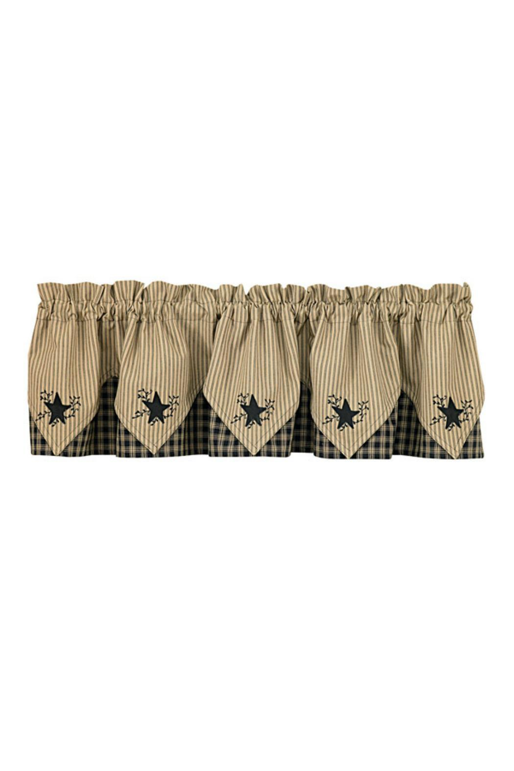 Park Designs Star Embroidered Valance - Main Image