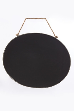 Park Hill Collection Oval Blackboard Sign - Product List Image