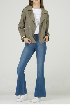 Fate Parka with shoulder scuff stripe band - Product List Image
